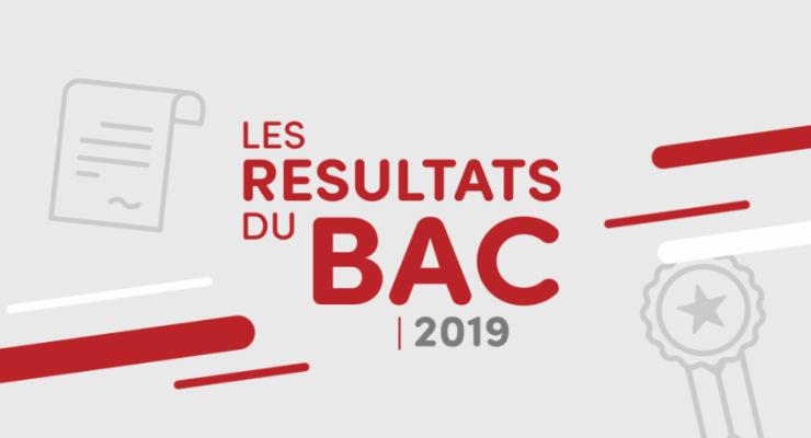 RÉSULTATS BAC 2019