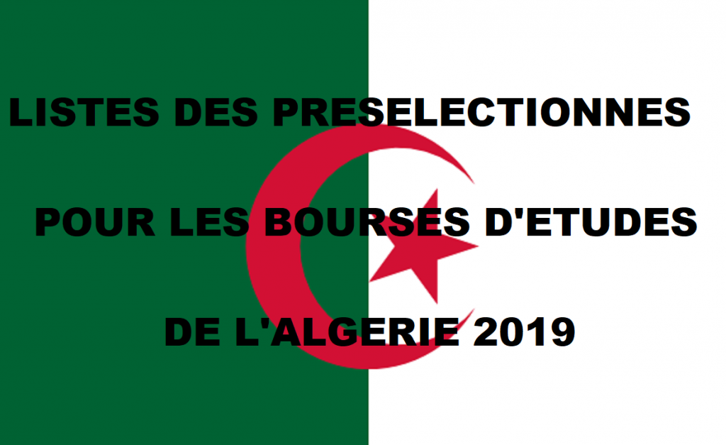 Listes Des Bacheliers Preselectionnes Pour Les Bourses D