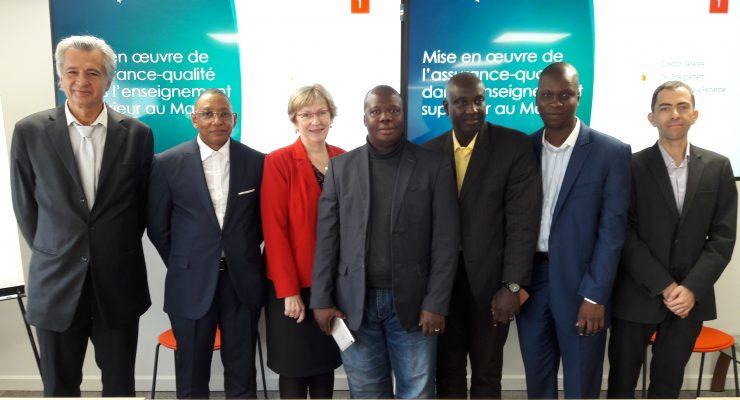Visite d'étude en France et en Belgique en appui à l'opérationnalisation de l'AMAQ-SUP